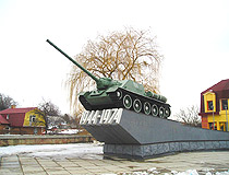 Monument to the 30th anniversary of the liberation of Rivne