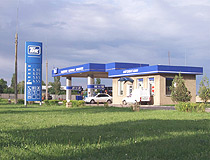 Stakhanov gas station