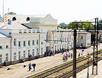 stryi city railway station - مدينة ستري ، أوكرانيا