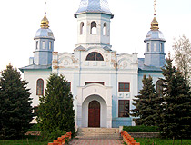 Sumy province church view