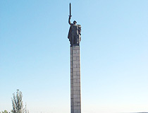 World War II memorial in Sumy