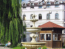 Fountain in Sumy