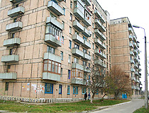 Svetlovodsk apartments house