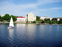 Ternopil Pond and Castle