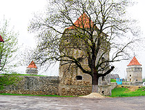 Skalat Castle in the Ternopil region
