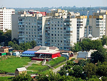 Apartment houses in Uman