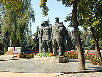 Second World War memorial in Vinnytsia