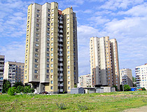 New apartment buildings in Vinnytsia