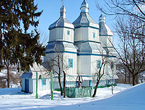 Wooden church in Vinnytsia Oblast