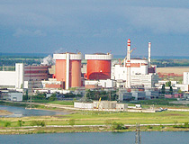 Yuzhnoukrainsk nuclear power station