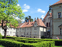 Schonborn Palace in the Zakarpattia region