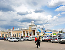 Architecture of old Zhytomyr