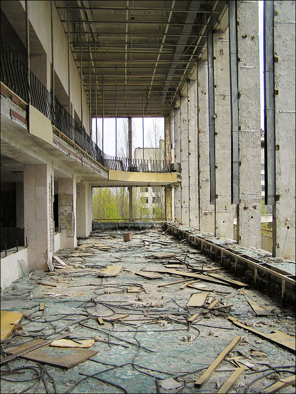 Abandoned Pripyat city, Ukraine story and pictures