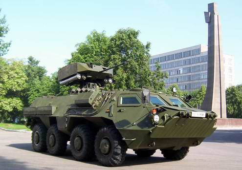Armoured personnel carrier BTR-4