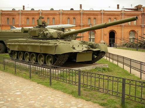 Ukraine army ground forces main battle tank T-80