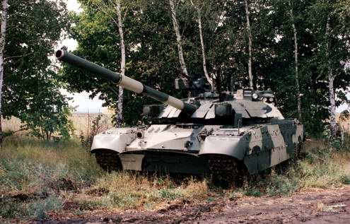 Ukraine army ground forces main battle tank T-84