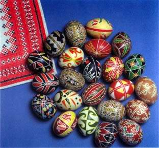 Ukraine people culture - Pysanky