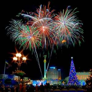 Ukraine holidays - New Year Day celebrations