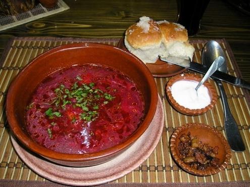 The Traditional Cuisine Of Ukraine