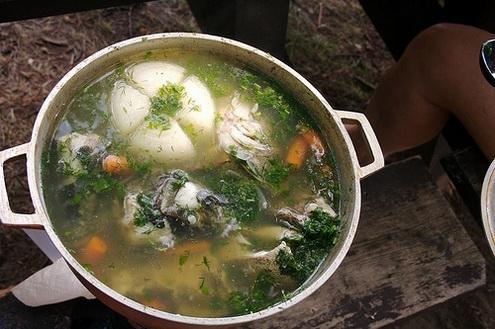 Уха (рыбный суп)
